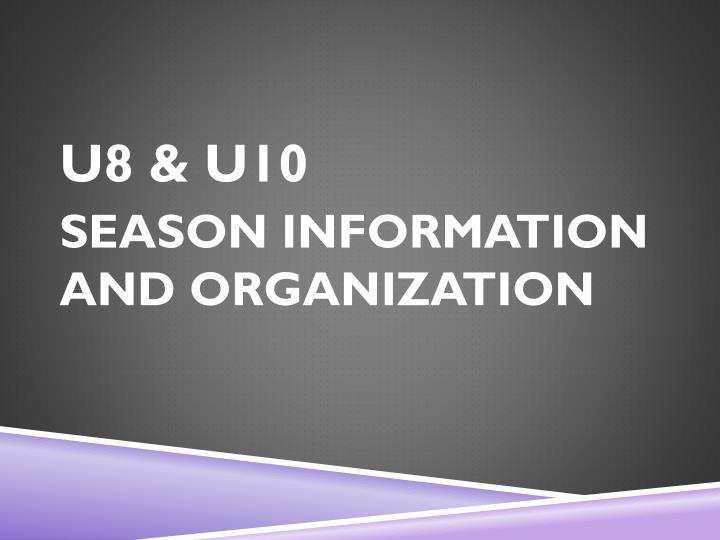 U8 & U10