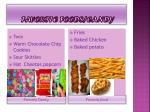 favorite foods candy