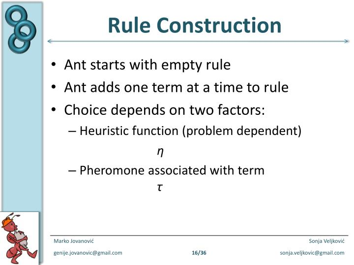 Rule Construction