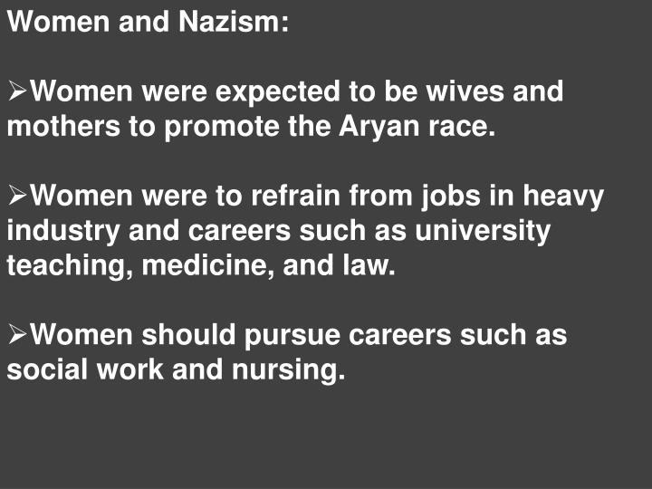 Women and Nazism: