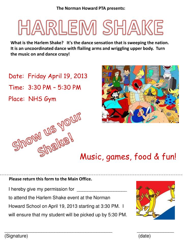 The Norman Howard PTA presents: