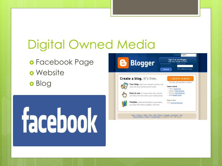 Digital Owned Media