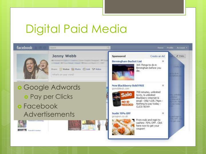 Digital Paid Media