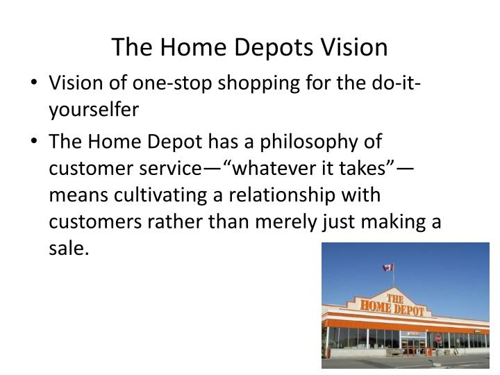The Home Depots Vision