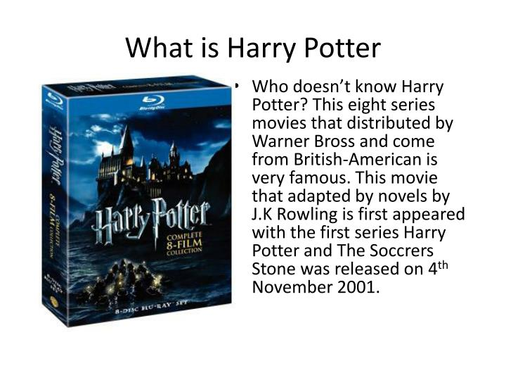 What is Harry Potter