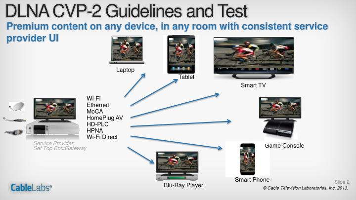 Dlna cvp 2 guidelines and test