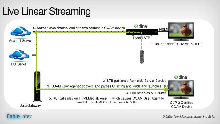 Live Linear Streaming