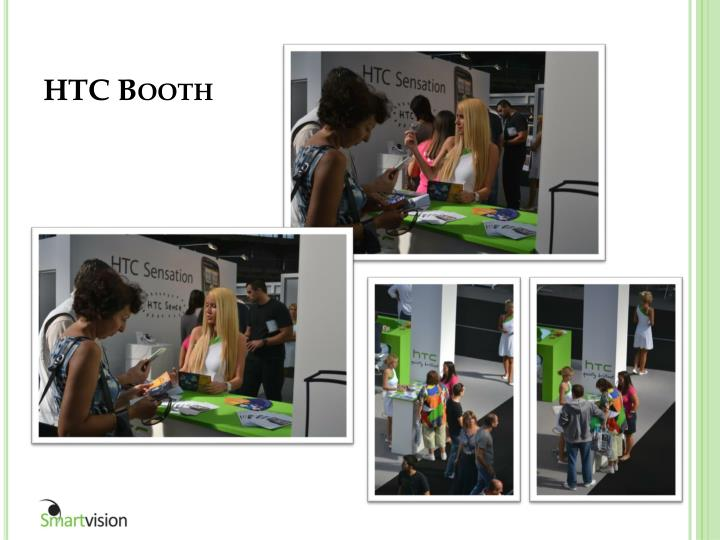 HTC Booth
