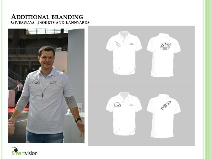 Additional branding