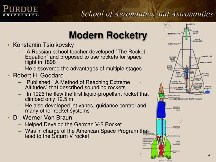 Modern Rocketry