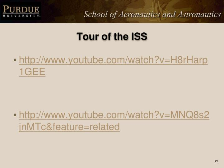 Tour of the ISS