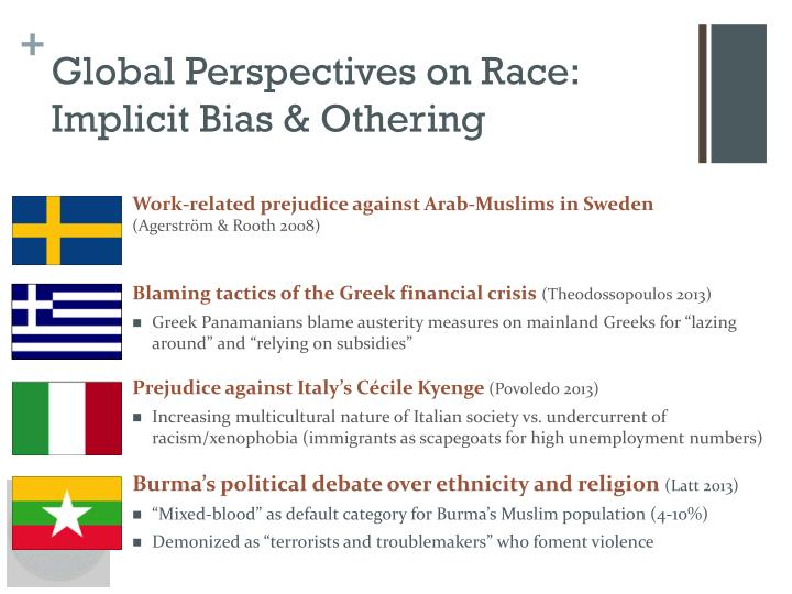 Global Perspectives on Race: