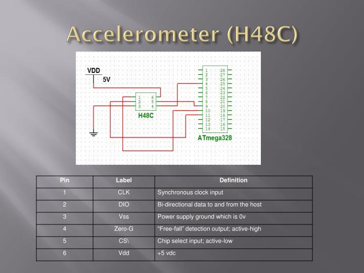 Accelerometer (H48C)