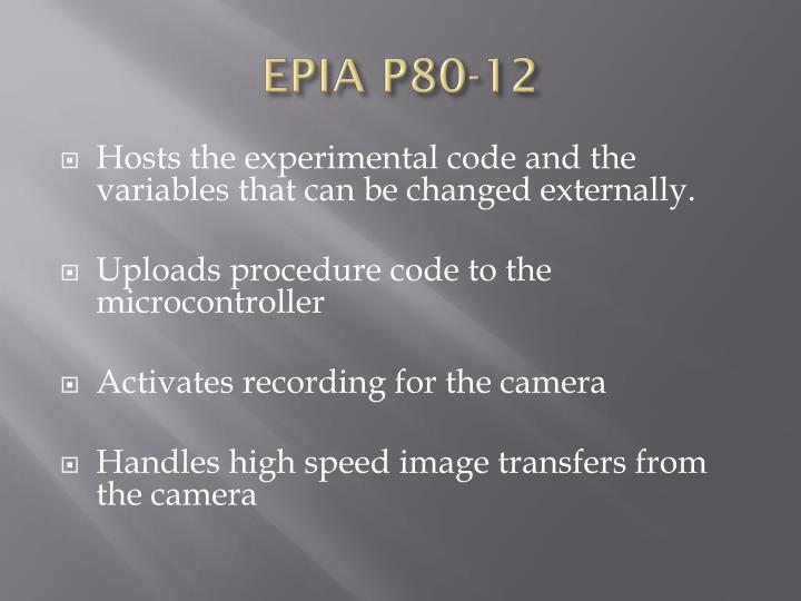 EPIA P80-12