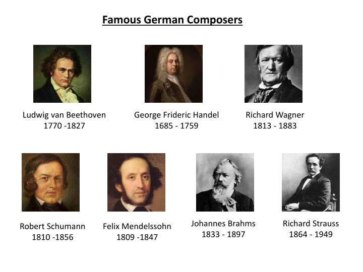 Famous German Composers