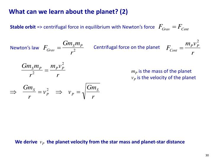 What can we learn about the planet? (2)