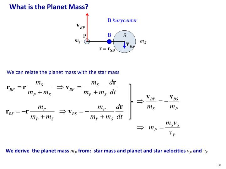 What is the Planet Mass?