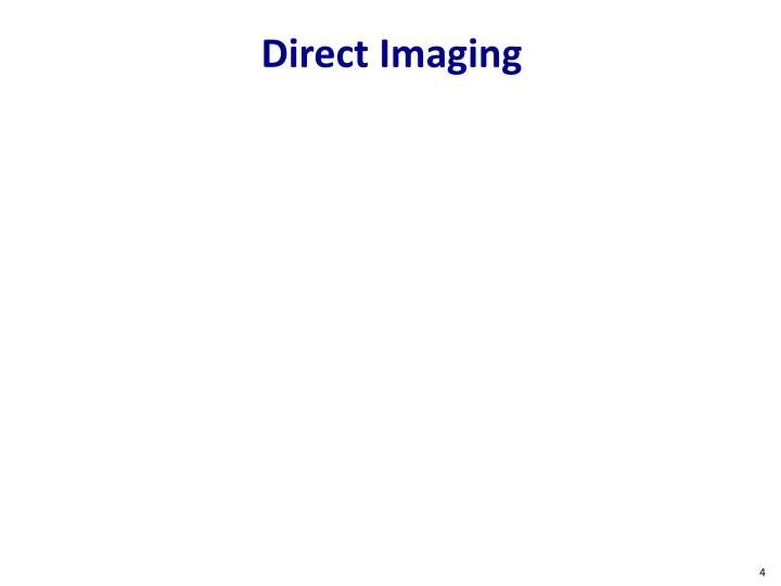 Direct Imaging