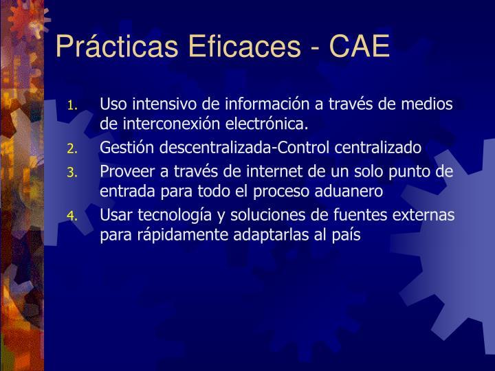 Prácticas Eficaces - CAE
