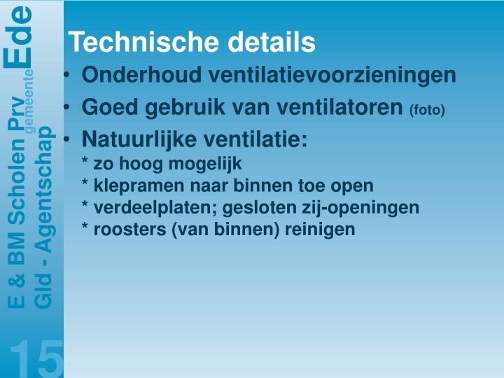 Technische details