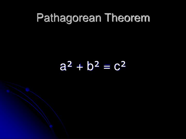 Pathagorean Theorem