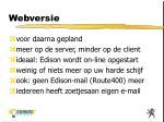 webversie