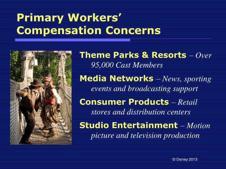 Primary Workers' Compensation Concerns