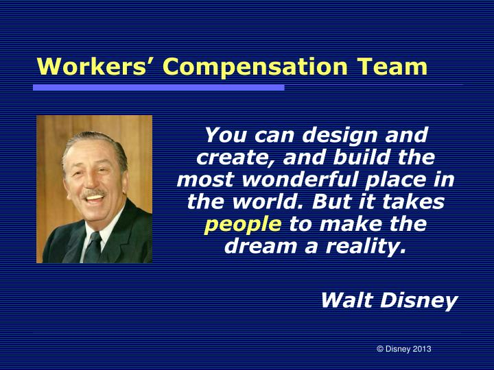 Workers' Compensation Team
