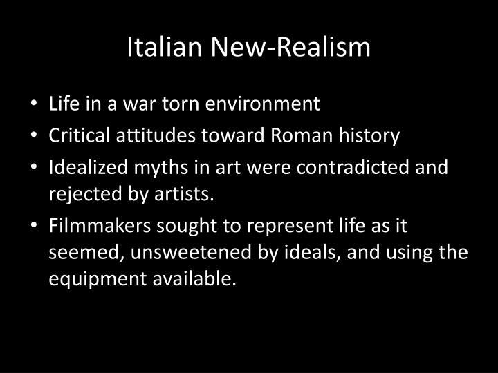 Italian New-Realism