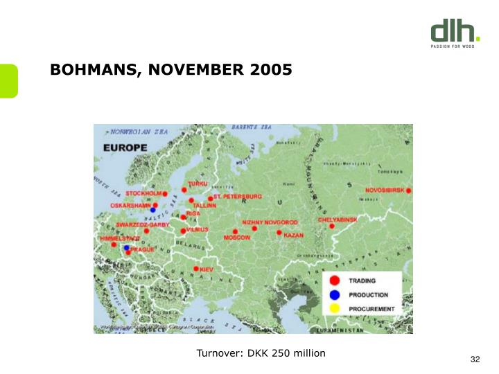 BOHMANS, NOVEMBER 2005