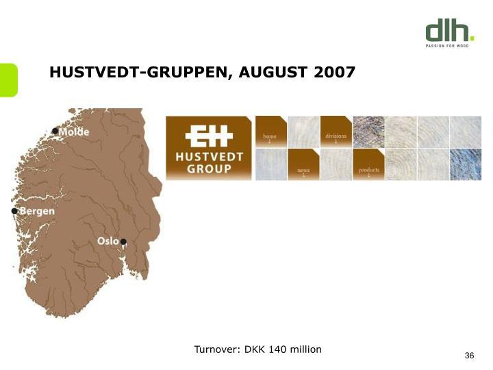 HUSTVEDT-GRUPPEN, AUGUST 2007