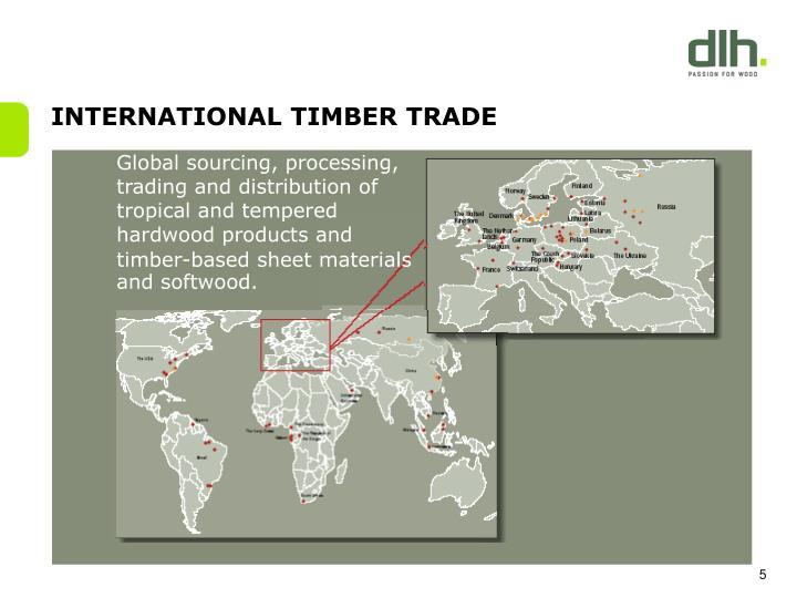 INTERNATIONAL TIMBER TRADE