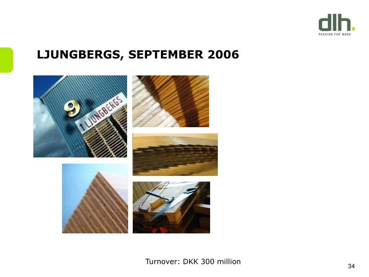 LJUNGBERGS, SEPTEMBER 2006