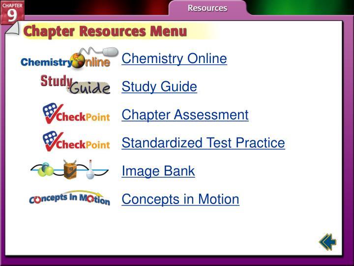 Chemistry Online