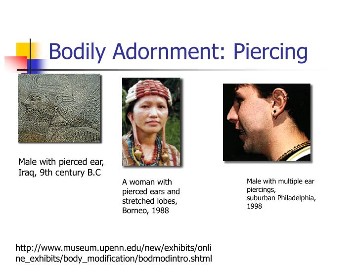 Bodily Adornment: Piercing