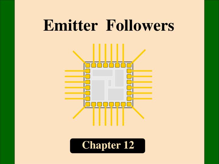 Emitter  Followers