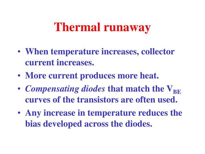 Thermal runaway
