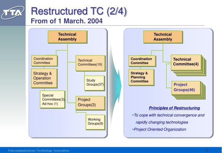 Restructured TC (2/4)