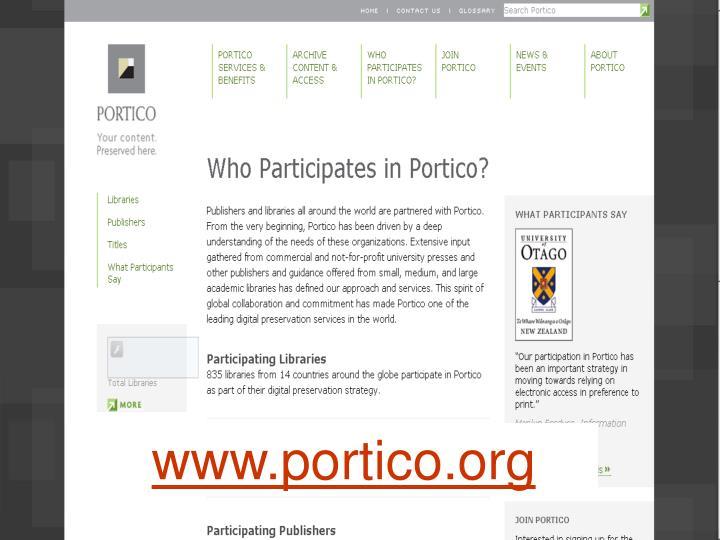 www.portico.org