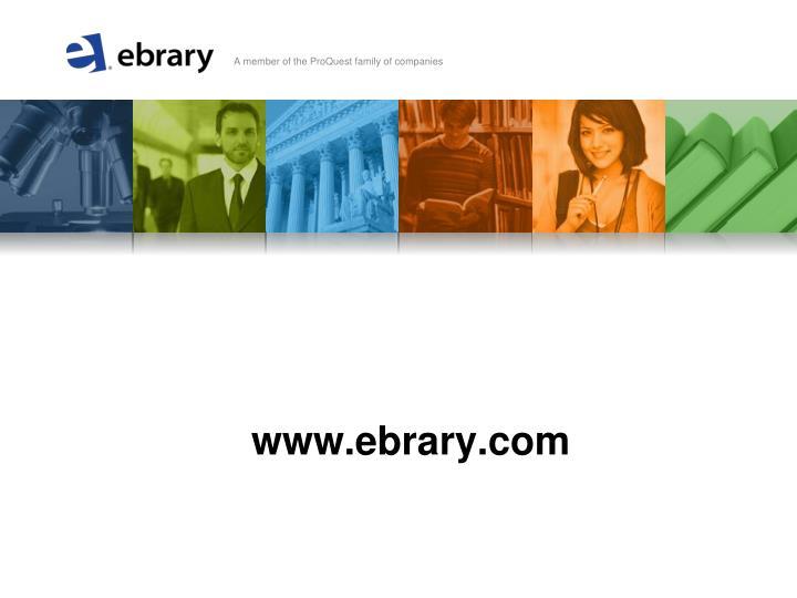 www.ebrary.com