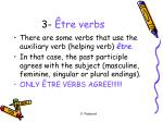 3 tre verbs