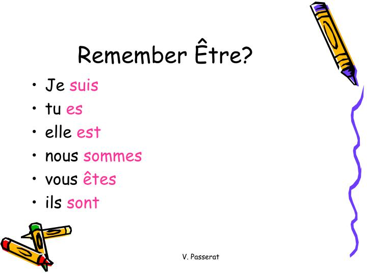 Remember Être?