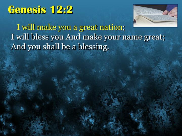 Genesis 12:2