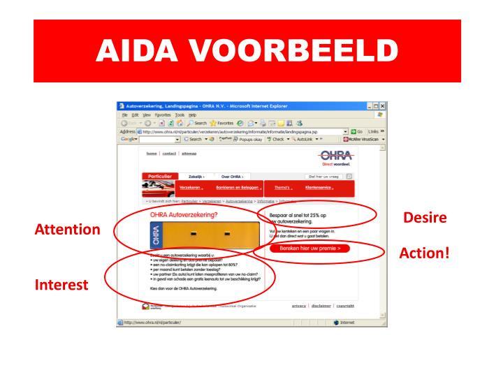 AIDA VOORBEELD