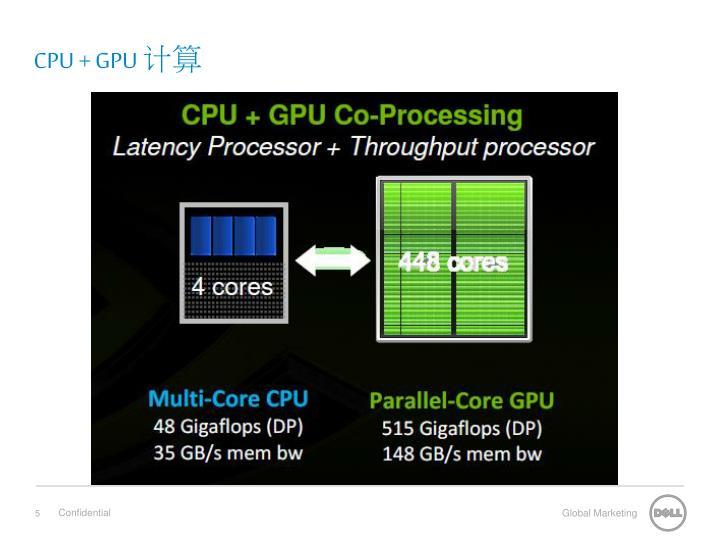CPU + GPU