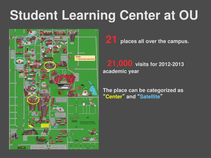 Student Learning Center at OU