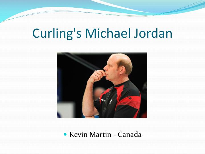 Curling's Michael Jordan