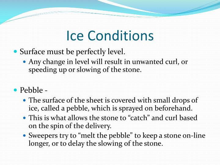 Ice Conditions
