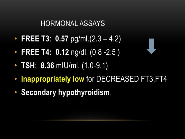 Hormonal assays