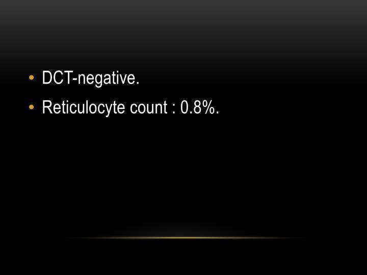 DCT-negative.